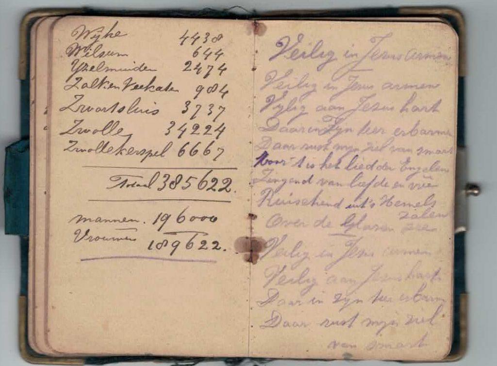 Abraham Posthumus notebook - pg31-32