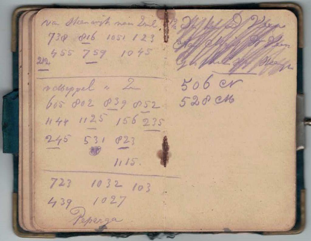 Abraham Posthumus notebook - pg35-36