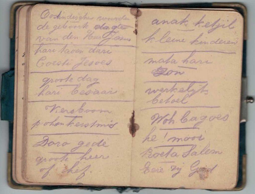 Abraham Posthumus notebook - pg37-38